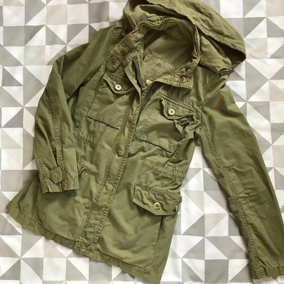 93ac8d7fac4 J. Crew Vintage Ripstop utility jacket